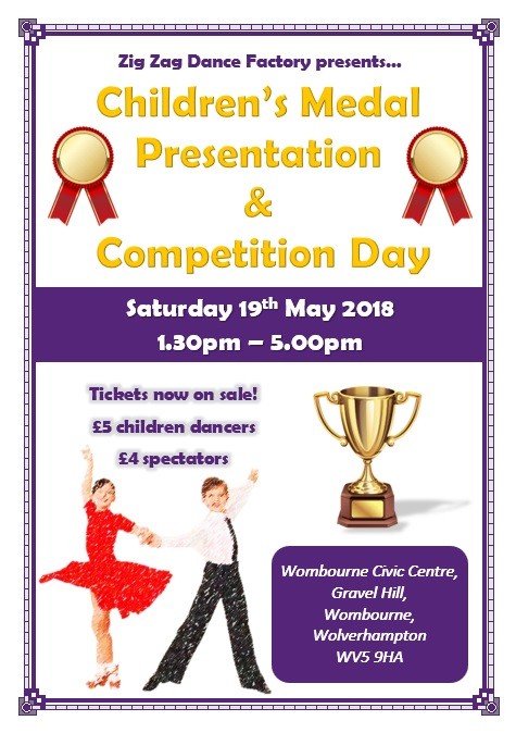 Children's Medal Presentation and Competiton Day 19th May